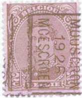 OCVB  N°  3661 B (3662 B) MOUSCRON 1926 MOESCROEN - Préoblitérés