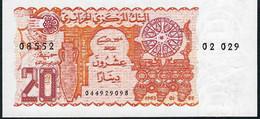 ALGERIA    P133    20   DINARS    1983      UNC. - Algerien