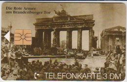 !!!!GERMANY-396 - O 0868 95 - 1.000EX. - 50. Jahrestag D-Day 2 - Die Rote Armee Am Brandenburger Tor - Allemagne