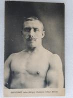 Jules Ghyselinck - Lutte - Wrestling - Ringen - Lutteur - Wrestler - Ringer - France