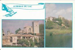 D04 - ESPARRON DE VERDON - AUBERGE DU LAC - CPM Grand Format Multivues (2 Vues) - Francia