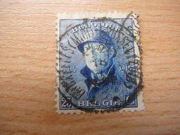 (21.06) BELGIE 1919 Nr 171 Mooie Afstempeling BRUXELLES - 1919-1920  Cascos De Trinchera