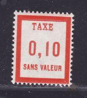 FRANCE FICTIF TAXE N° FT11 ** MNH Timbre Neuf Sans Charnière, TB - Fictifs