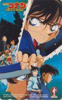 Télécarte JAPON / 110-016 - MANGA - DETECTIVE CONAN - ANIME BD COMICS JAPAN Movie Phonecard - Holmes 12045 - BD