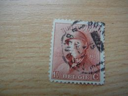 (21.06) BELGIE 1919 Nr 168 Mooie Afstempeling BRUSSEL - 1919-1920  Cascos De Trinchera