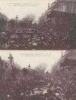 VISITE PRESIDENTILLE A STRASBOURG DEFILE DES TROUPES PLACE DE LA REPUBLIQUE 8/12/1918 - Strasbourg