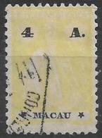 Macao Macau – 1924 Ceres Type 4 Avos Used - Macao