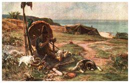 Lapina 216 - Bonnefoy, Robinson Crusoé (2 Lignes) Brun - Pittura & Quadri