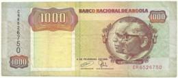 Angola - 1000 Kwanzas - 04.02.1991 - Pick 129.c - Sign. 18 - Série CR - José Eduardo Dos Santos E Agostinho Neto 1 000 - Angola