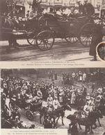 VISITE PRESIDENTILLE A STRASBOURG 8/12/1918 M POINCARE ET M CLEMENCEAU - Strasbourg