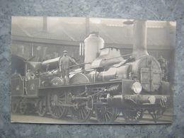 CARTE PHOTO A SITUER - TRAIN, LOCOMOTIVE - ATELIERS DE PARIS PLM - Trains