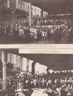 VISITE PRESIDENTILLE A STRASBOURG 8/12/1918 LA TRIBUNE OFFICIEL - Strasbourg