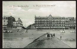 Blankenberghe  - La Digue Et La Rive Ouest - Grand Hôtel De L'Océan - Edit. Légia - 2 Scans - Blankenberge