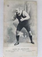 Ludvik Jos. (Michailovic) - Lutte - Wrestling - Ringen - Lutteur - Wrestler - Ringer - Romania
