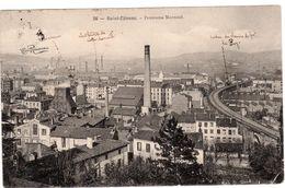 CPA 42 SAINT-ETIENNE Panorama Montaud - N° 36, Voyagée, écriture Plume, Timbrée, 1903, DD - Saint Etienne