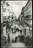 Blankenberghe  - La Rue De L'Eglise - Edit. Légia - 2 Scans - Blankenberge