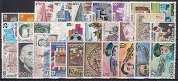 ESPAÑA 1980 Nº 2558/2598 AÑO NUEVO COMPLETO, 29 SELLOS, 2 HB,1 ENTRADA - Espagne