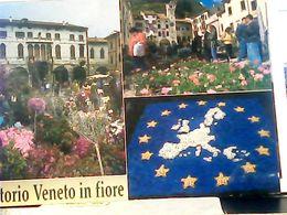 VITTORIO VENETO IN FIORE STAMP  B 2020  FEDERICO FELLINI  HQ9579 - Treviso