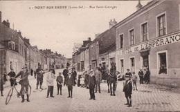 Nort Sur Ordre (44) Rue Saint Georges CPA  Non Circulée - Nort Sur Erdre