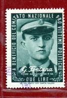 PRO VITTIME POLITICHE  L. 2  G.FONTANA - 6. 1946-.. Republic