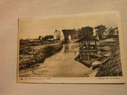 Belle Carte Ancienne  COUSEULLES-SUR-MER Paysage De La Seulles - Courseulles-sur-Mer