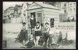 Blankenberghe - Une Cabine De Bains - Cabine Fl. Vandevelde - Edit. Légia - 2 Scans - Blankenberge