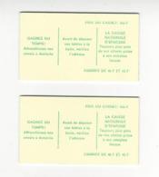 COTE D'IVOIRE 1976 CARNET NEUF** C429 (x 2) COTE 200 EUROS /FREE SHIPPING REGISTERED - Côte D'Ivoire (1960-...)
