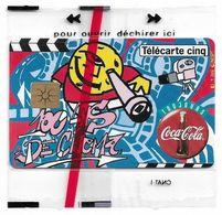 France - Coca Cola Carrefour, Gn192 - 5Units, 11.1995, 9.000ex, NSB - 5 Unités