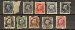 Belgie - Belgique Ocb Nr :  211 - 219 ** MNH + 187 ** MNH  (zie Scan) - 1921-1925 Kleine Montenez