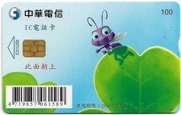 Taiwan - Chunghwa (Chip) - Disney - A Bug's Life, Exp. 31.12.2005, 100U, Used - Taiwan (Formose)