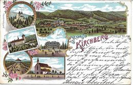 1900 - Kirchberg Am Wechsel , Gute Zustand, 2 Scan - Neunkirchen