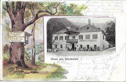 1903 - SCHOTTWIEN , Gute Zustand, 2 Scan - Neunkirchen