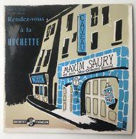 Vinyl 45 Tours - Maxime Saury : Rendez-vous à La Huchette - Jazz