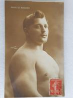 Raoul Le Boucher - Lutte - Wrestling - Ringen - Lutteur - Wrestler - Ringer - France