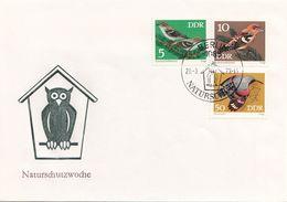 DDR Brief 1973 - 5 + 10 + 50 Pf, Naturschutzwoche  (Brief Ohne Inhalt) - [6] Democratic Republic