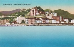 VENTIMIGLIA (IMPERIA) CARTOLINA - PANORAMA CITTA' VECCHIA - Imperia
