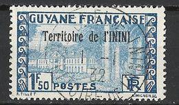 "ININI N°21 Avec Cachet Rond St Elie Du ""1/1/1932"" - Inini (1932-1947)"