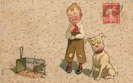 SERIE 649 ENFANT CHIEN ET SOURIE - Humor
