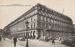 ( PARIS ) Vue Générale Des Grands Magasins Du Louvre. ( Carte Servant D'accusé De Réception De Commandes). - Other