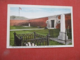Fort Moultrie & Grave Of Oceola The Indian Chief   South Carolina > Charleston Ref 4175 - Charleston