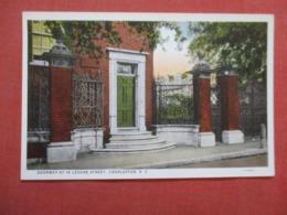 Doorway At 14 Legare Street        South Carolina > Charleston Ref 4175 - Charleston