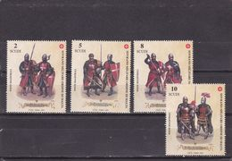 Orden De Malta Nº 664 Al 667 - Malte (Ordre De)