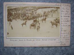 NANCY GARE - ARRIVEE DU MINISTRE DES COLONIES - DECRAIS 1901 - Nancy