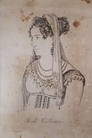 Stampa D'epoca - Isabella Colbran - Soprano - Secolo  XVIII - Estampes & Gravures
