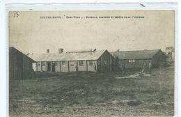 Koksijde Coxyde Camp Foch Bureaux Magasins Et Dépôts De La 1e Division - Koksijde