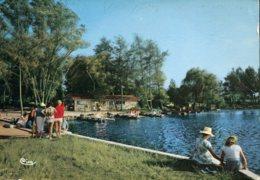 40 - Soustons : Le Lac Et Le Bar De La Flotille - Soustons