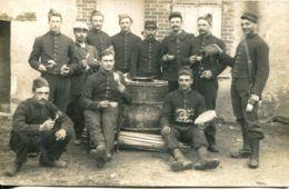 N°1277 R -carte Photo 95è Régiment D'infanterie De Bourges -1è Cie- - Regiments