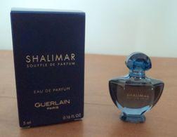 SHALIMAR  SOUFFLE  DE  PARFUM  DE  GUERLAIN - Miniatures Femmes (avec Boite)