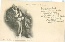 Bretagne; Poésies De Botrel Illustrées; Bretons Têtus - Non Voyagé. (Collection E. Hamonic) - Bretagne