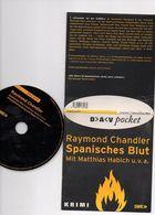 Cd Livre Audio Original EN ALLEMAND Spanisches Blut Raymond Chandler Matthias Habich - CDs